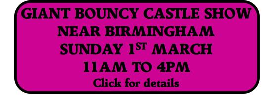 Giant Bouncy Castle Show