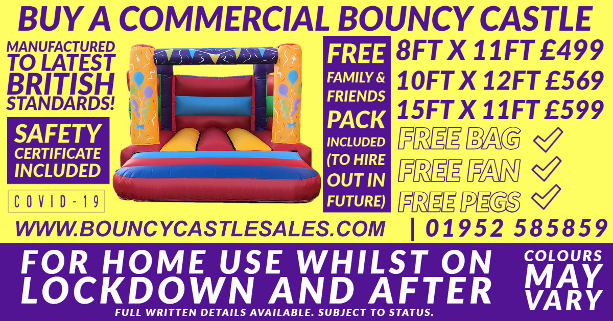 Bouncy Castles for Home