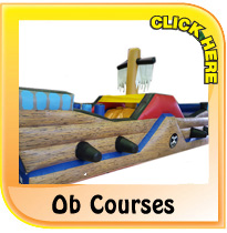 Bouncy Obstacle Courses from Pineapple Leisure