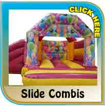 Bouncy Slide Combis from Pineapple Leisure