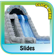 Bouncy Castle Slides from Pineapple Leisure