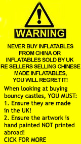 Link to information on buying non-UK bouncy castles