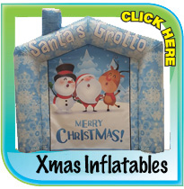 Christmas Inflatables from Pineapple Leisure