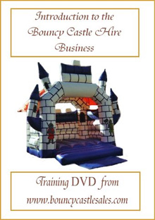 Introduction to the Bouncy Castle Hire Business - Training DVD