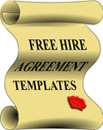 Free Hire Agreement Templates