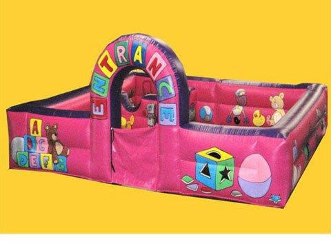 Bc215 deluxe commercial 12 x12 soft play ball pond with safety