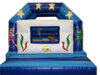 BC118 Deluxe Commercial Bouncy Castle larger view