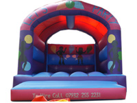 BC205 Deluxe Commercial Bouncy Inflatable larger view