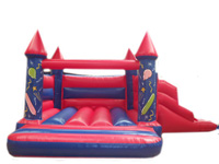 BC293 Deluxe Commercial Bouncy Inflatable larger view