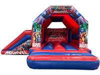 BC330 Deluxe Commercial Bouncy Inflatable larger view