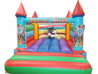 BC334 Deluxe Commercial Bouncy Inflatable larger view