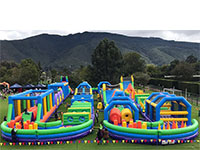 BC454 Deluxe Commercial Bouncy Inflatable larger view