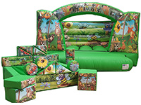 BC515 Deluxe Commercial Bouncy Inflatable larger view