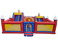 BC527 Deluxe Commercial Bouncy Inflatable larger view