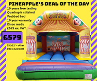 BC532 Deluxe Commercial Bouncy Inflatable larger view