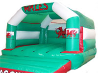 BC87 Deluxe Commercial Bouncy Inflatable larger view