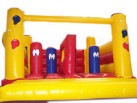 BC93 Deluxe Commercial Bouncy Inflatable larger view