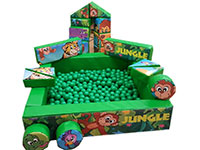 JUNGLE Deluxe Commercial Bouncy Inflatable larger view