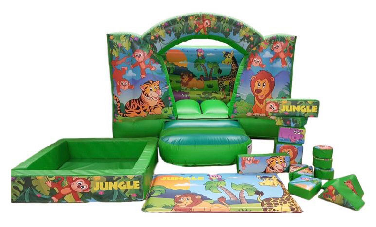 JUNGLESP Deluxe Commercial Bouncy Inflatable larger view