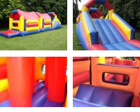 OC01 Deluxe Commercial Bouncy Inflatable larger view