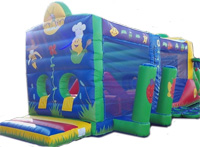 OC25 Deluxe Commercial Bouncy Inflatable larger view