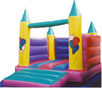 Turret Bouncy Castle